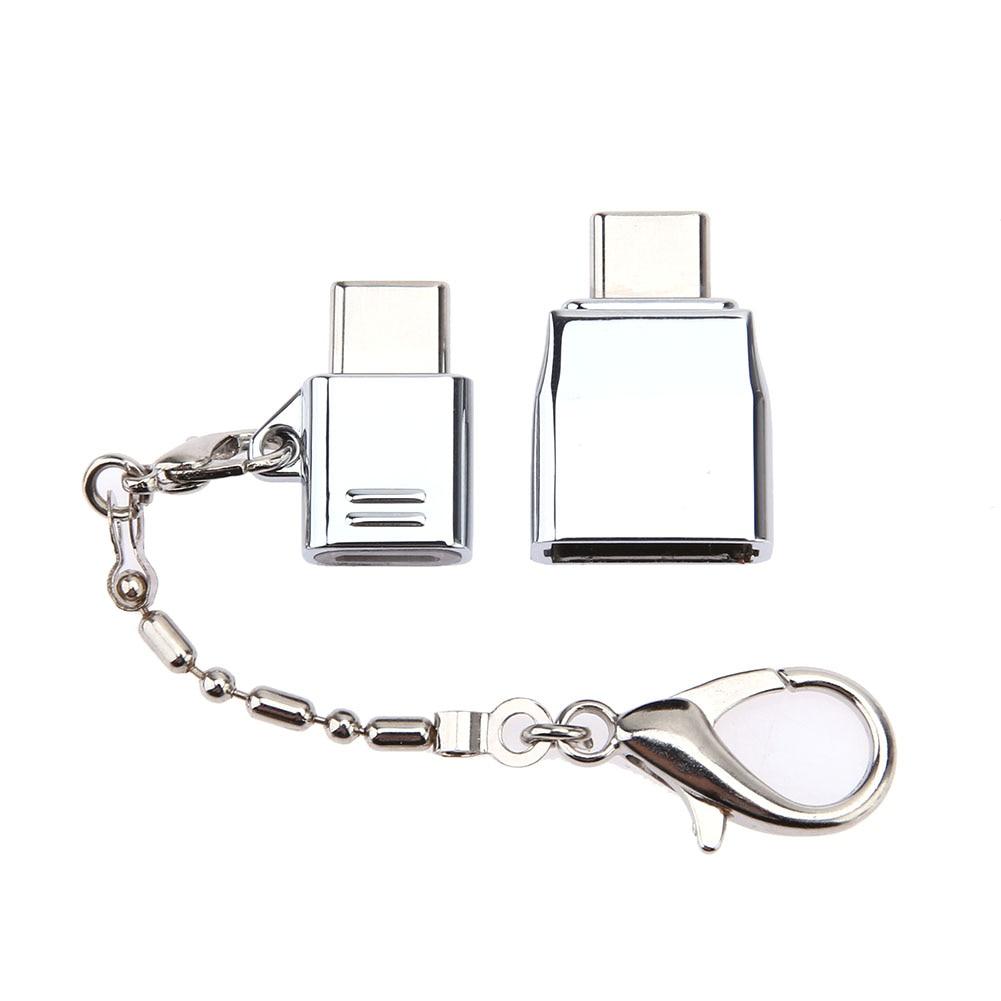 Metal Type C Adapter Kit Micro USB 3.1 Connector Type C