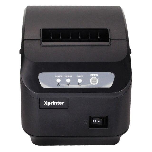 XP-Q200II DHL 80 мм тепловая чековый принтер USB + интерфейс RS232 pos принтер с автоматической резки функции