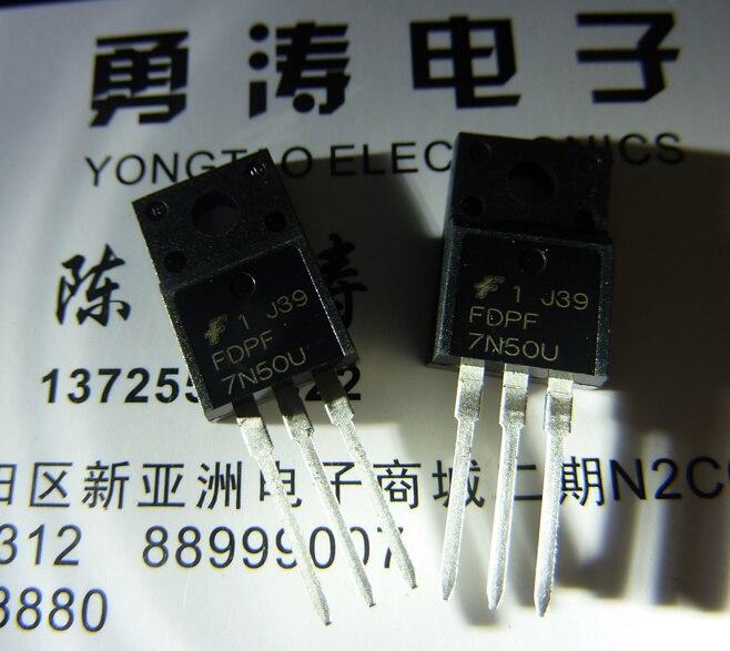 100% Neue Original To-220f Fsc 7a 500 V N Mos Fdpf7n50u 1 Beste übereinstimmung
