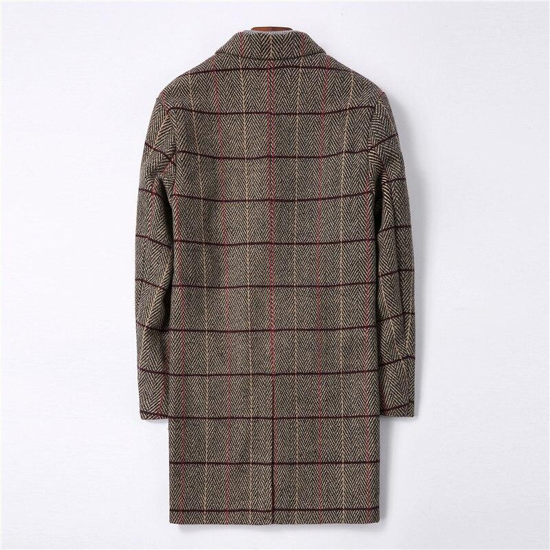 df60682cc0 YuWaiJiaRen chaquetas hombre Casual Color sólido primavera chaqueta  masculina abrigo impermeable M-4XL militar bombardero