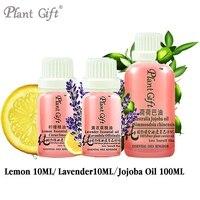 100% Pure Etherische Oliën Argentinië Invoer Citroen/Lavendel/Jojoba-olie 10 ML Huid Verzachten Constipatie Concentraat
