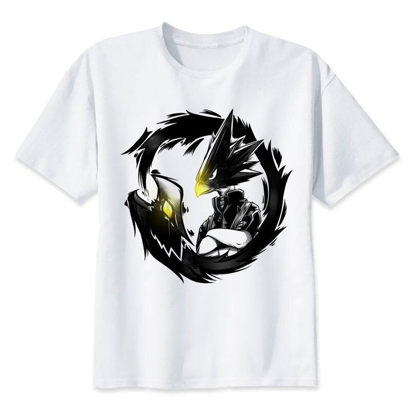New Arrival My Hero Academia T Shirts Man Short Sleeve Clothing Boku No Hero Academia Funny Cartoon Print T-shirt For Man/woman 19