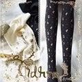 Princesa doce lolita Princesa Japonesa A ampulheta bronzeamento Arco Relógios e relógios de Veludo meia-calça bk23