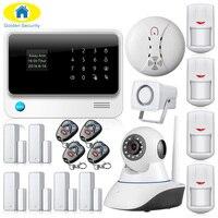 G90B-PLUS GSM Alarmsysteem WiFi Alarmsysteem GPRS Alarmsysteem Afstandsbediening Deur/Raam Sensoren Inbraakalarm