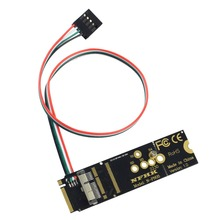 New BCM94360CS2 6+12 Pin Bluetooth Wifi Wireless Card Module to NGFF M.2 Key M PCIe X4 Adapter  Converter