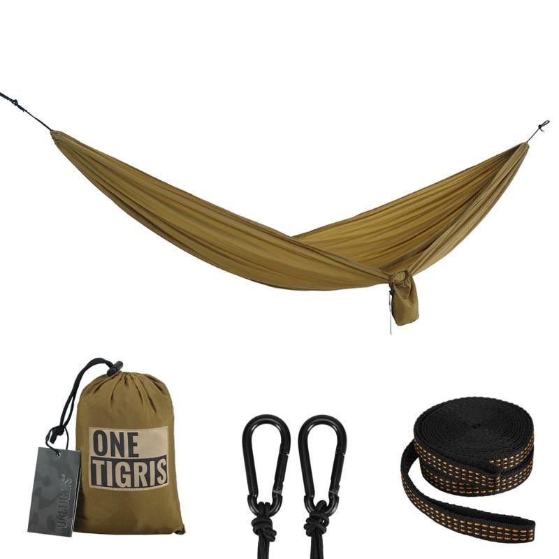 OneTigris Sobreviviente de Camping Portátil Hamaca Hamaca Wterproof Ligero Tácti