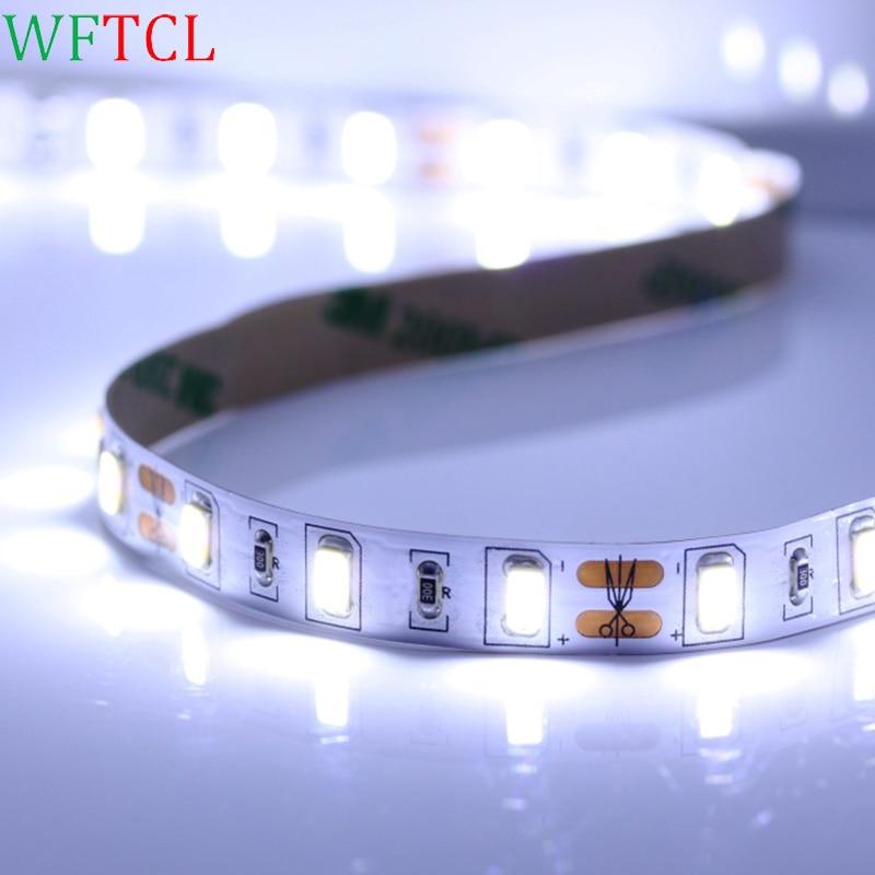 5630 LED Strip 1M 60LEDs 5M LED Tape Lights non waterproof cuttable with adhesive tape 1M, 2M, 3M, 4M, 5M, 10M LED Stripe Lights