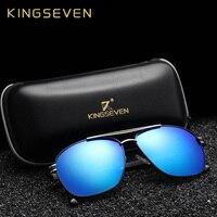 New Arrival 2017 KINGSEVEN Vintage Pilot Brand Designer Male Sunglasses Men Women Sun Glasses Gafas Oculos