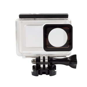 Image 2 - 터치 스크린 방수 케이스 수중 35m 다이빙 보호 쉘 하우징 Xiaomi 이순신 4K 2 II 액션 카메라 액세서리