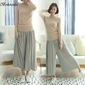 Bohocotol Harajuku Trousers Women Summer Pants New Pleated Wide Leg Pants Women Pants Pantyhose Harem Pants Leggings