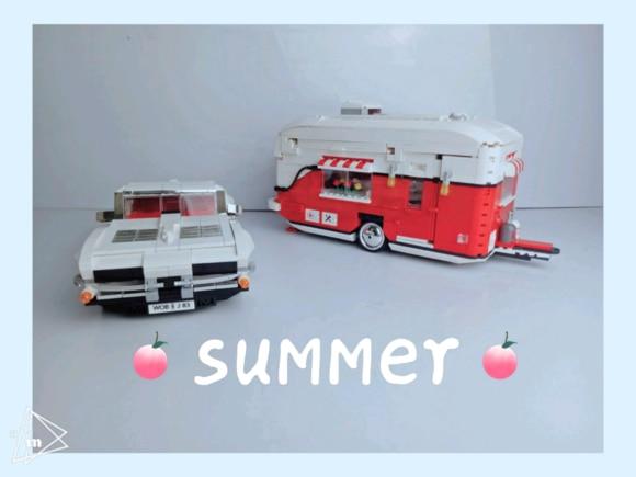 2436Pcs New XingBao Creative Series The MOC Camper Set Children Educational Building Blocks Bricks Toys Model Boys Gifts