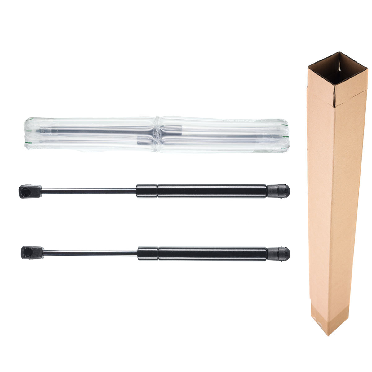 Universal 12 30lbs 10mm Ball Socket Gas Charged Lift Supports Shock Gas Struts 4420 133N 12.00 Inches 8.10 Inches