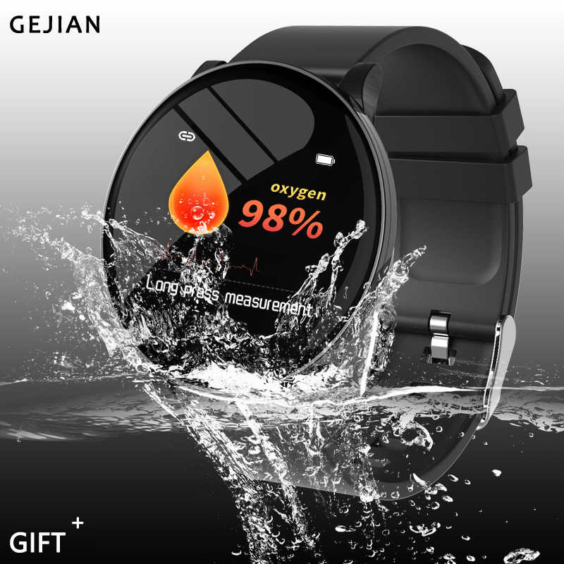 GEJIAN New Men's and Women's Smart Watches Waterproof health monitoring multi-sports mode gravity Sensing Bluetooth OTA upgrade