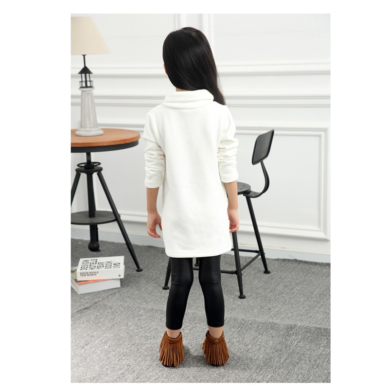 Girls Long T-shirts Dresses 01 (5)