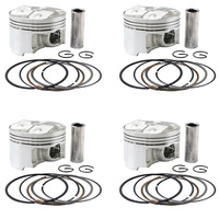 For YAMAHA FZR400RR 3JT 1990 1992 1993 1994 FZ400 4YR Engine Assembly Parts 56mm 56.25mm 56.50mm Motorcycle Piston Rings