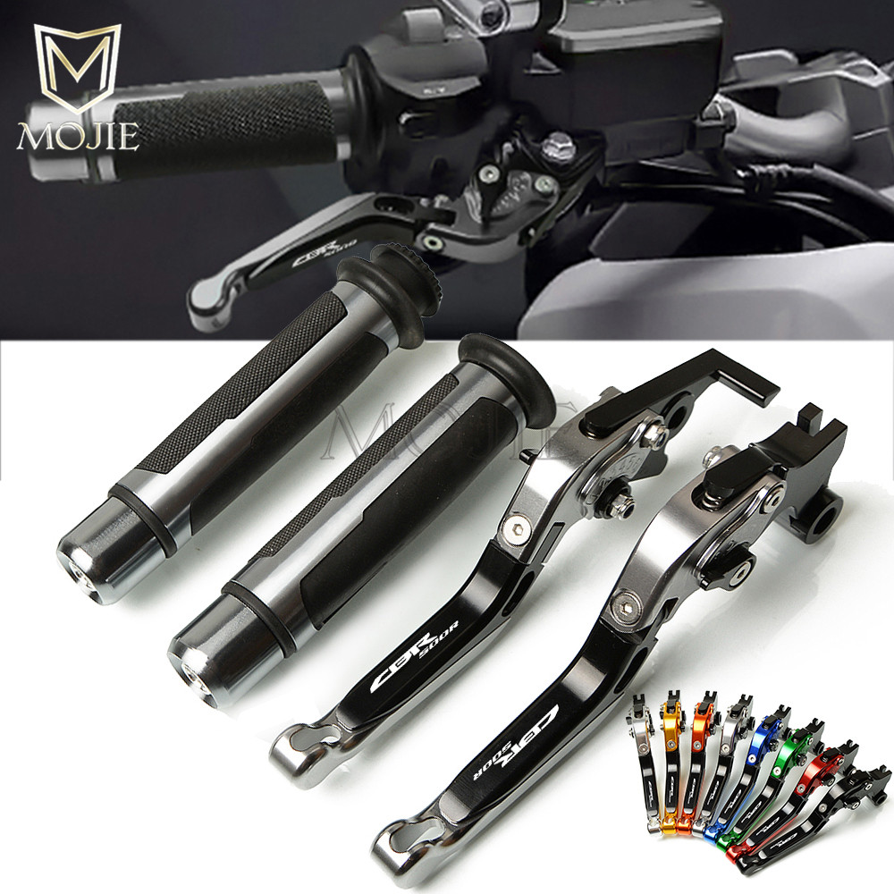 For Honda <font><b>CBR500R</b></font> CB500F CB500X CBR CB 500 F X CBR500 R CB500 F X2013-<font><b>2018</b></font> Motorcycle CNC Brake Clutch Lever Handle Hand Grips image