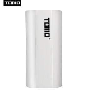 Image 5 - טומו M2 2x18650 ליתיום אוניברסלי סוללה DIY חכם נייד סוללה USB מטען עם LCD תצוגת מסך כוח בנק תפוקה כפולה