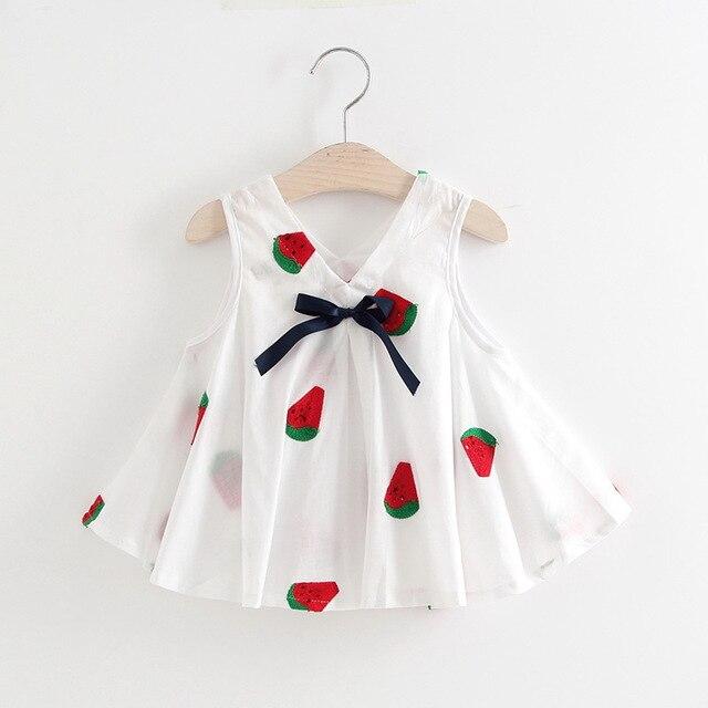 Nuevo bebé del niño del verano 2018 Vestidos Niñas Vestidos princesa ...