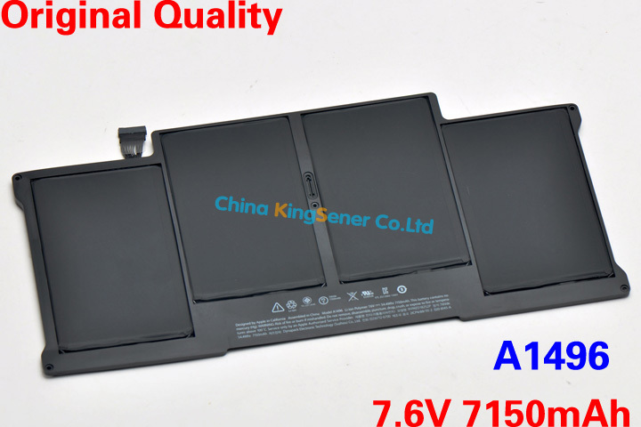 ФОТО New Genuine Original Laptop Battery A1496 For Apple MacBook Air 13