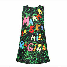 Girls vest dress kid ladies Christmas Formal dress