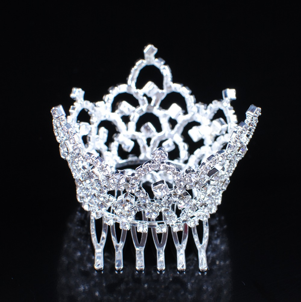 aliexpress : buy mini crowns with hair combs austrian