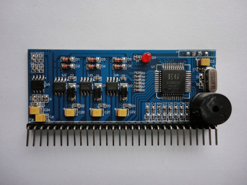 EGS031 three-phase pure sine wave inverter drive plate EG8030 test board egp3000w three phase sine wave inverter power backplane empty plate ups eps