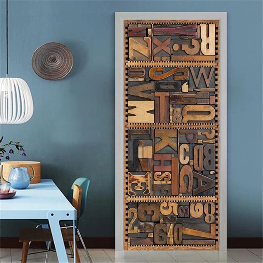 Details about  /3D Tower Tür Wandbild PVC abnehmbarer Aufkleber für die Inneneinrichtung