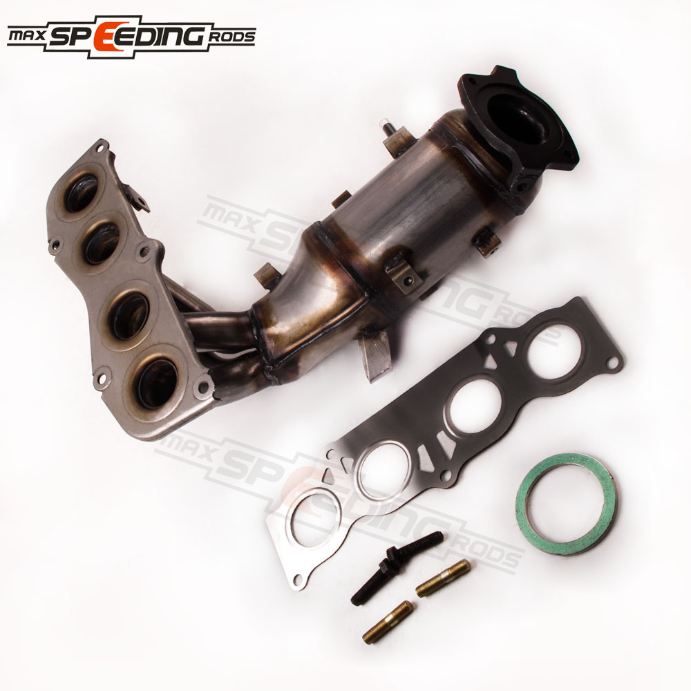 Toyota Solara Exhaust Manifold Engine System Intake: Exhaust Manifold W/Catalytic Converter For 02 06 Toyota