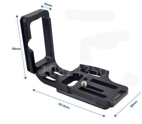 Vertical Shoot Quick Release L Plate Bracket for Nikon D800 D800E D810 Arca