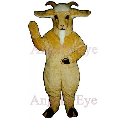 Light Yellow Goat Mascot Ram Sheep Costume Adult Size Long White Beard Ibex Mongolian gazelle Anime Cosplay Fancy Costumes-in Mascot from Novelty u0026 Special ...  sc 1 st  AliExpress.com & Light Yellow Goat Mascot Ram Sheep Costume Adult Size Long White ...