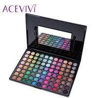 1 Pcs New Fashion Professional 88 Colors Eyeshadow Palette Makeup Matte Shimmer Palette 31