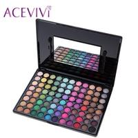 Aceviviプロフェッショナル88色アイシャドウパレット化粧マットシマーパレットアイシャドウキット女