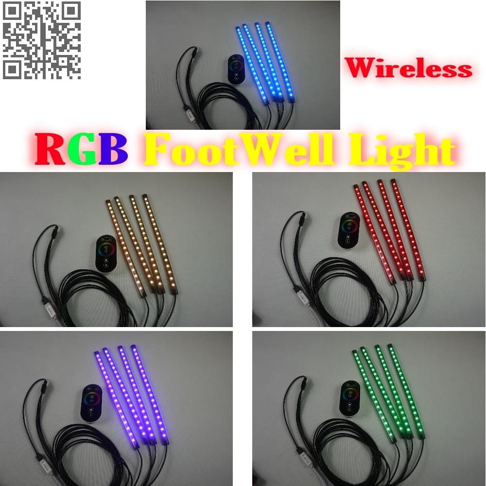 24g Wireless Control 360 Rgb Color Neon Glow Interior Underdash