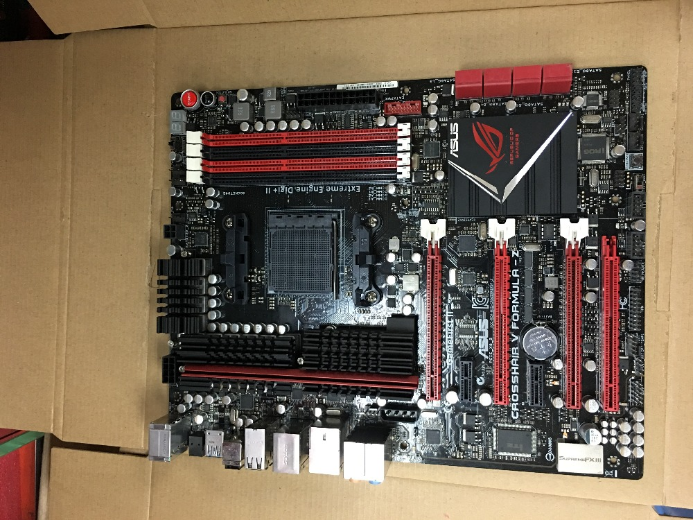 ASUS Crosshair V Formula-Z C5F-Z original Tomada de desktop motherboard DDR3 AM3 + 32 GB USB3.0 USB2.0 para 32nm cpu motherboard