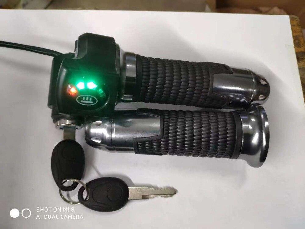 24v36v48v Batterie Ebene/power Anzeige & Twist Gas Mit Lock & Display Elektrische Roller Dreirad Fahrrad Mtb Atv Diy Teile