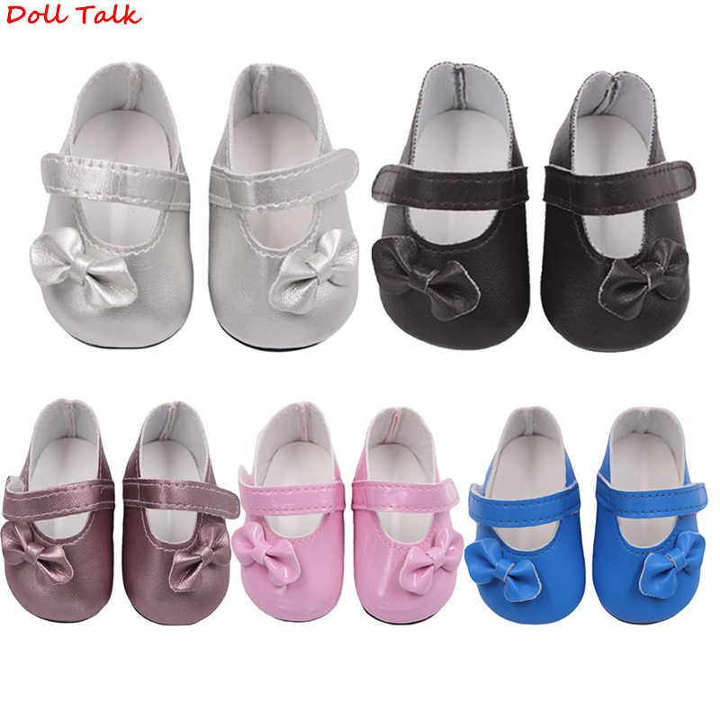 Doll Talk Factory direct sales Cute For 18 inch American doll shoes Americangirl children Glitter girl Doll Shoes