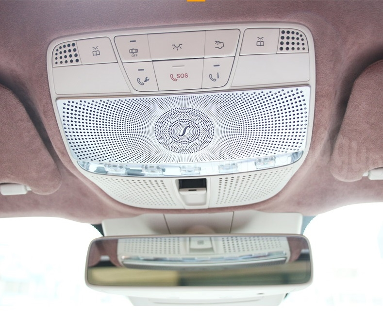 Car Before reading lamp cover sticker For Mercedes Benz