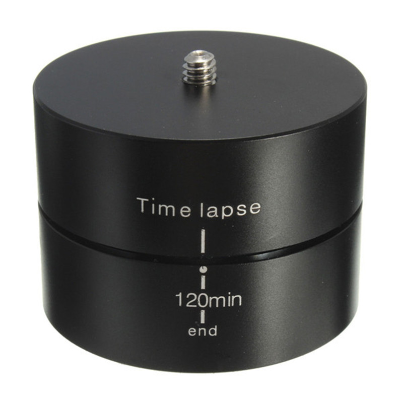 120min-1-4-360-Degrees-Panning-Rotating-Time-Lapse-Stabilizer-Tripod-Adapter-For-Gopro-SJ4000-XIaomi (3)