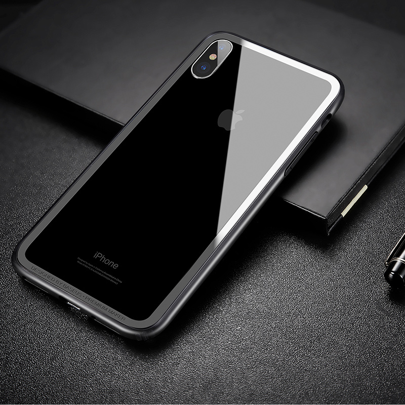 Baseus Shockproof bumper case for iphone X 10 Protective Soft TPU ...