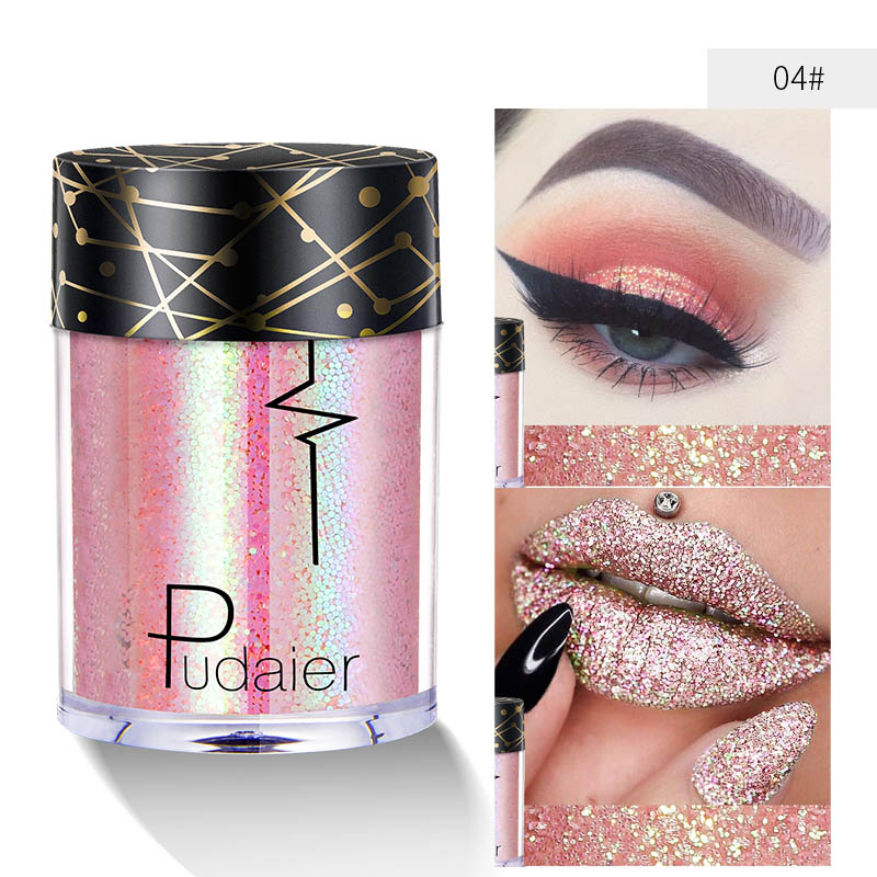 Us 344 25 Offbody Glitter Festival Tattoo Makeup Sequins Holographic Shimmer Face Hair Lip Eyeshadow Loose Powder Paint Glow Pigment In Body