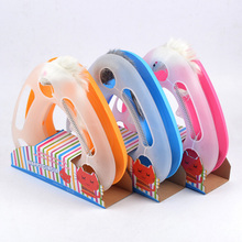 Multifunctional happy circle cat toy