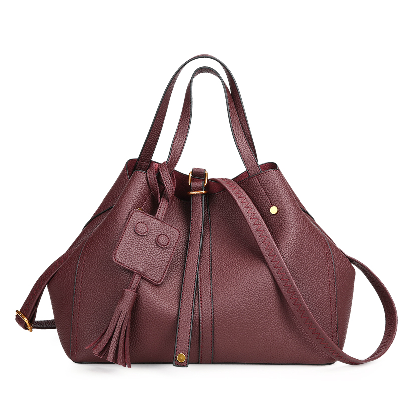 afc5a4cbcc 2017 Large Soft Leather Bag Women Handbags Ladies Crossbody Bags For Women  Shoulder Bags Female Big Tote Sac A Main Famous Brand-in Shoulder Bags from  ...
