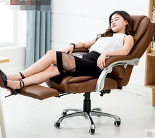 Reclining leather chair home computer chair swivel chair stylish leather massage chairs replica fritz hansen swan chair leather