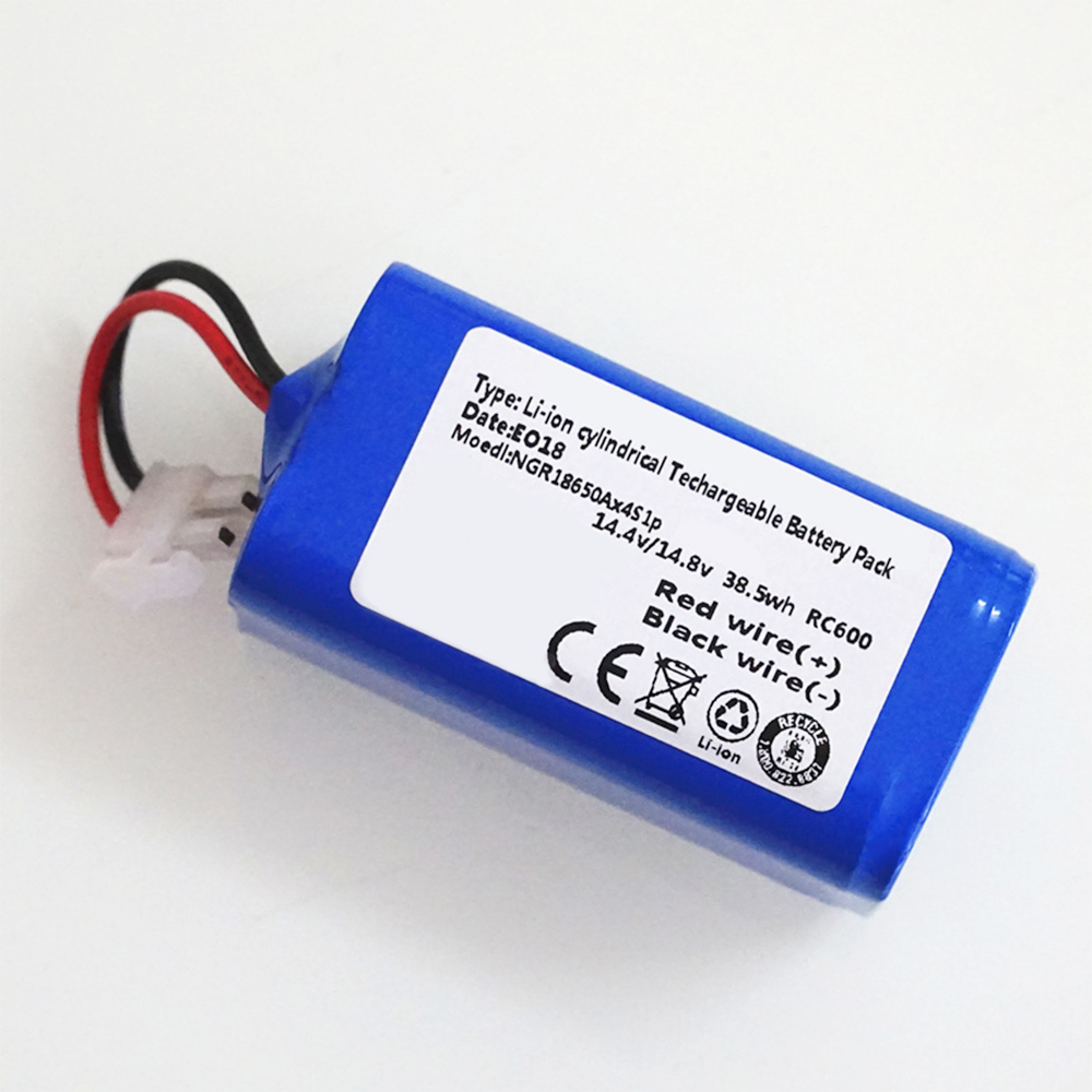 14.8V 2600mAh Robot Vacuum Cleaner Battery Pack Replacement For Chuwi Ilife V7 V7S Pro Robotic Sweeper High Quality