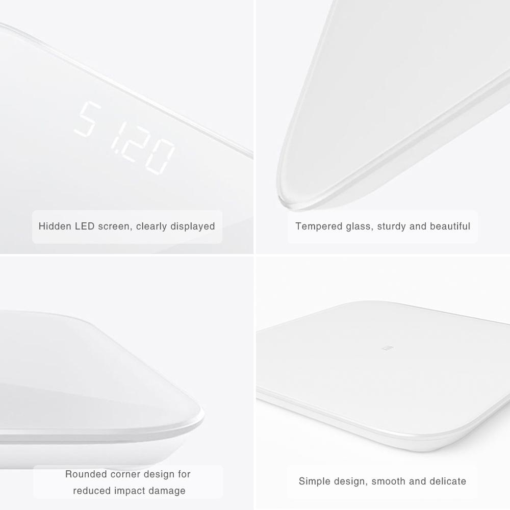 XIAOMI MIJIA Mi Smart Weight Scale for Fitness Check with LED screen and APP 3