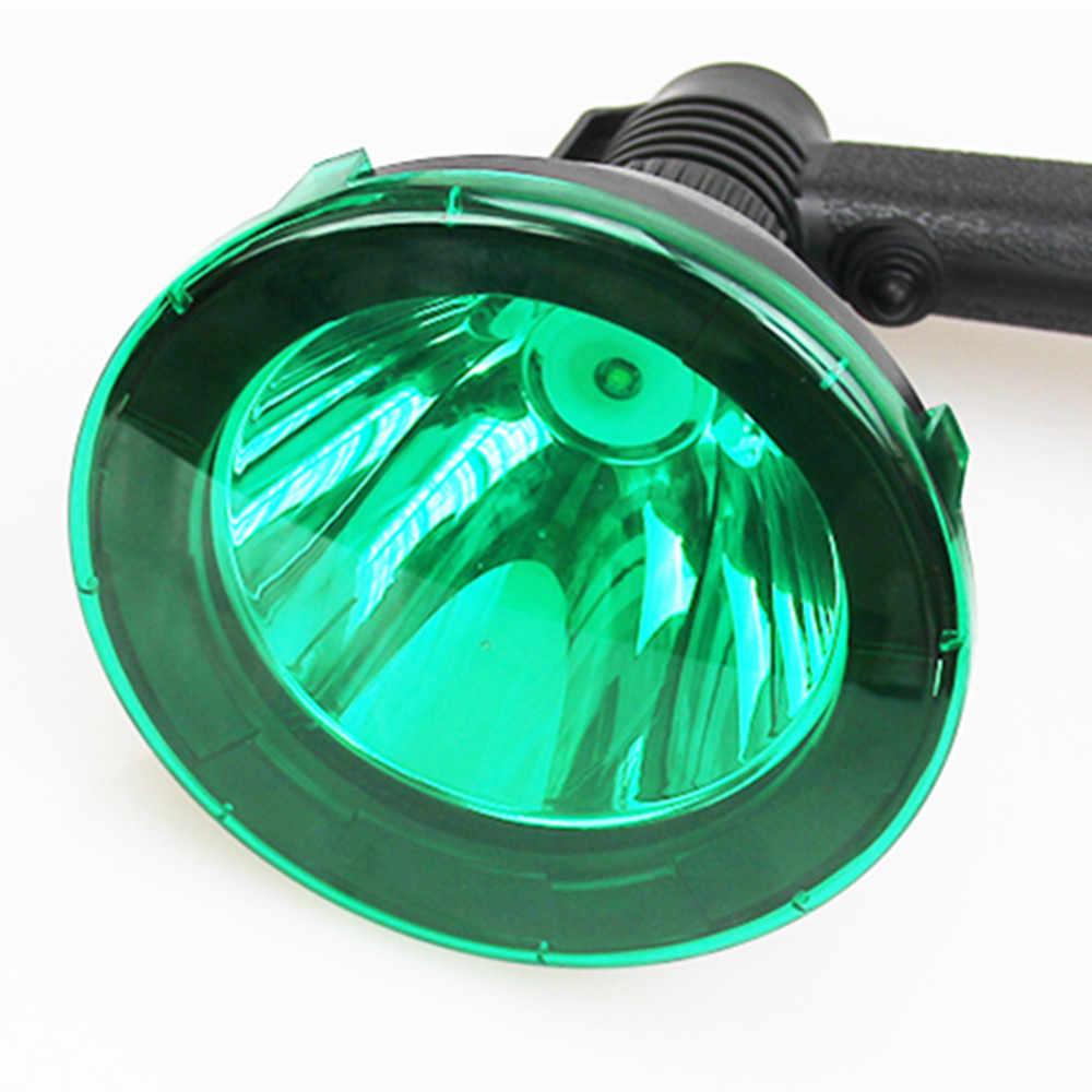 2 kleuren Availble 125mm Groen of Rood Lens Filter Spotlight Lens Cover voor 125mm LED Poratble Verlichting/ scope Gemonteerd Spotlight