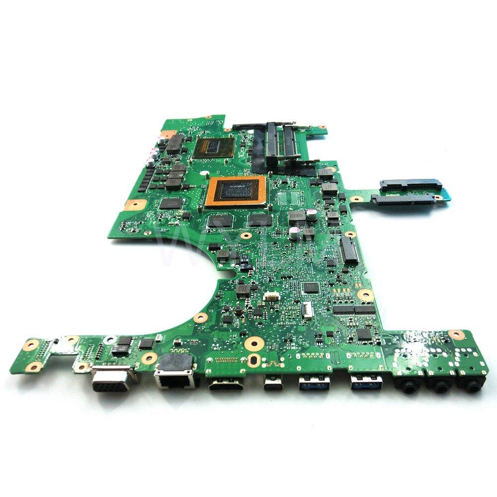 For ASUS G751 G751J G751JT G751JY Motherboard i7 CPU GTX970M 3GB Mainboard USA