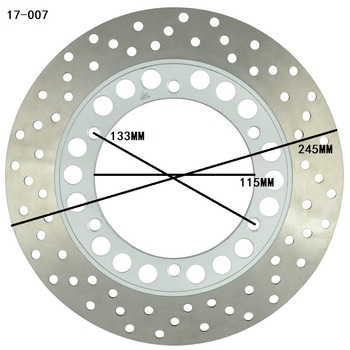 Motorcycle Rear Brake Disc Rotor For Yamaha YZF600R 1994-2007 TDM850 1991-2001 TRX850 1995-2000 TDM900 2002-2009 NEW