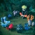 Anime NARUTO Uzumaki Naruto Naruto figura 11 unids/set Bestia pvc figura de acción de juguete modelo muñeca kawaii juguetes brinquedos venta caliente