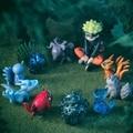 Anime NARUTO figura 11 pçs/set Besta Naruto Uzumaki Naruto pvc action figure modelo toy boneca kawaii juguetes brinquedos venda quente
